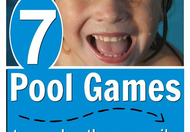 These are the BEST pool games for kids. Such simple ideas that are so creative they are bound to make those little swimmer smile ear to ear. Fabulous water play ideas for kids! #howweelearn #poolgames #summergames #swimming #swimmingideas #swimmingforkids #summerideas #waterplay